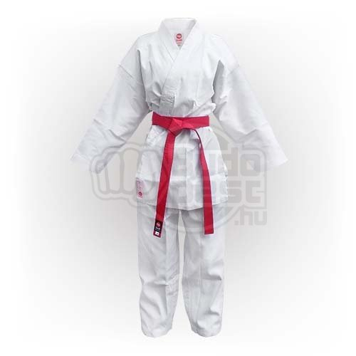 Karate Uniform, Saman, Kumite without belt, white, cotton/poly, 200 size