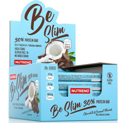 Protein szelet, Nutrend BeSlim, csokoládé-kókusz ízű, 35 g