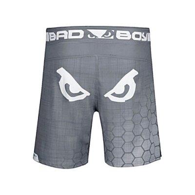 MMA short, Bad Boy, Legacy Prime, grey