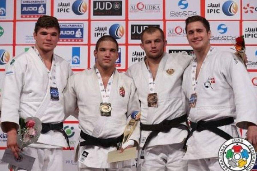 Abu-Dzabi Grand Slam: magyar arany, ezüst és bronz!
