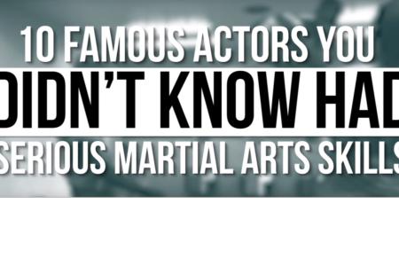 Világhírű színészek, akik valódi harcművészek