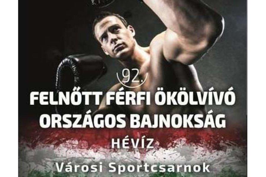 Megkezdődött a 92. férfi felnőtt ökölvívó  magyar bajnokság