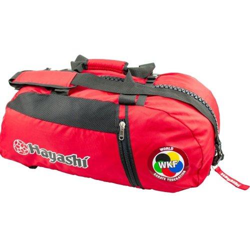 Backpack-Sportsbag-Dufflebag combination WKF, red, large