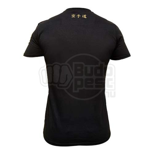 T-shirt, Saman, Karate, cotton, black, XL size