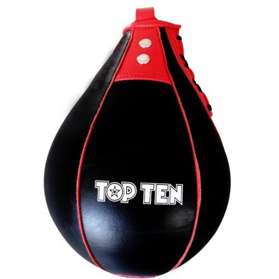 Reflexlabda, Top Ten, bőr, fekete-piros