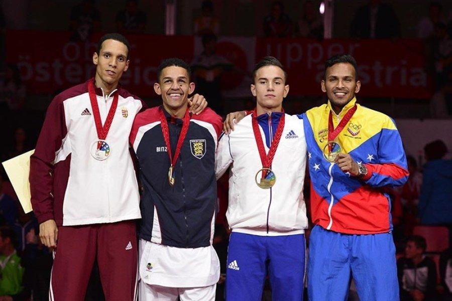 Tadissi Yves Martial ezüstérmet szerzett a Karate VB-n