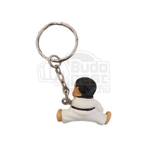 Kulcstartó, rúgó emberke, 3D