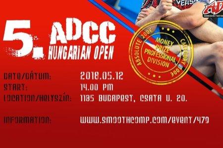 Kövesd nálunk a ADCC Hungarian Open-t!