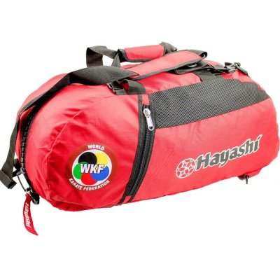 Backpack-Sportsbag-Dufflebag combination WKF, red, large