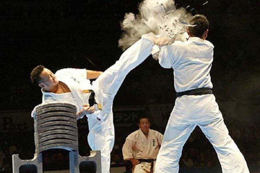 A Kyokushin karate 5 napos próbája