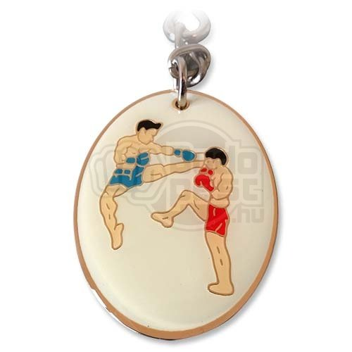 Kulcstartó, Thai-box, fém