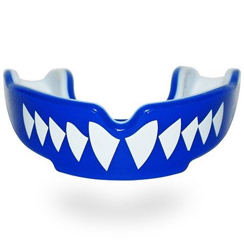 Mouthguard, SAFEJAWZ, Shark, Gel, Blue, SR méret