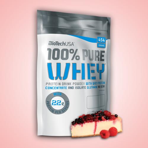 Biotech, 100% Pure Whey, 454 g, 16 ízben