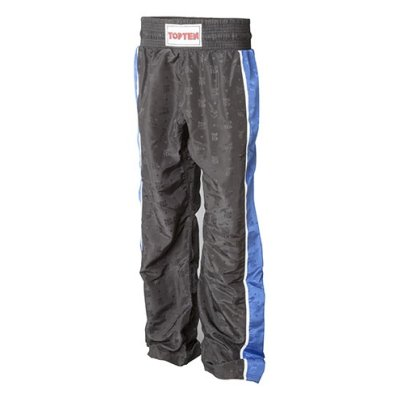 Kick-box trousers, Top Ten, Stripe, black/blue