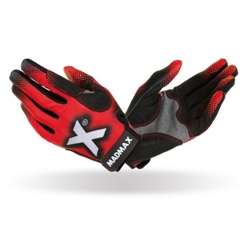 Cross Fit Gloves, Madmax, X Gloves, unisex, Fekete-piros szín, L size