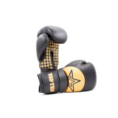 """Boxing gloves """"Wrist Star"""", Fekete-arany szín, 10 oz méret"""