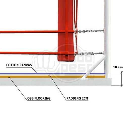 Training Ring, Saman, Supreme, 6x6m, 4 soros