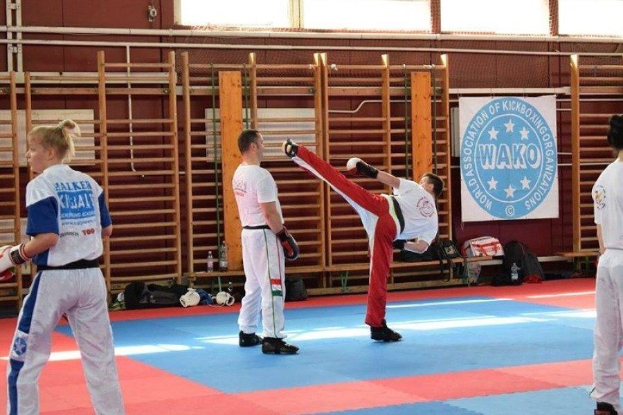 Sikeres Kick-box DAN vizsgák Budapesten