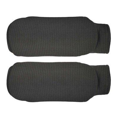 Forearm pads, cotton, black