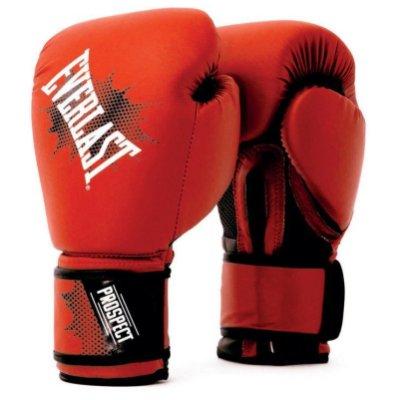 Boxkesztyű Everlast Prospect Gloves 2018, piros, 8 oz