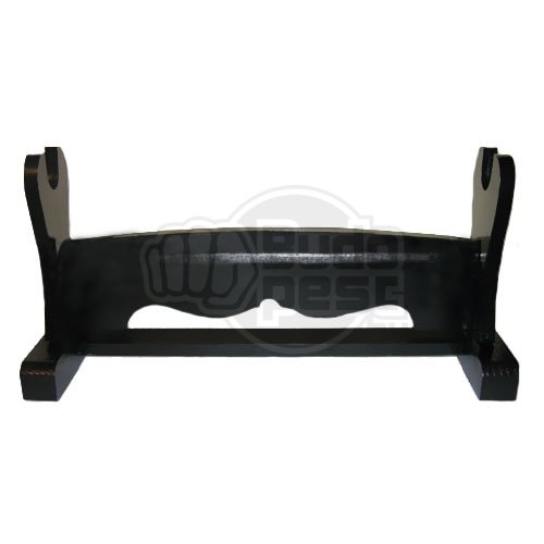 Sword Stand, wooden, black, for 1 sword tw