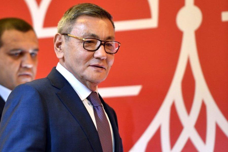 Gafur Rahimov az AIBA új elnöke