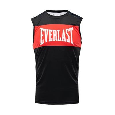 Box trikó, Everlast, Jab, férfi, fekete-piros