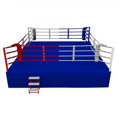 Competition Boxing Ring, Saman, 6,5x6,5m, 4 ropes