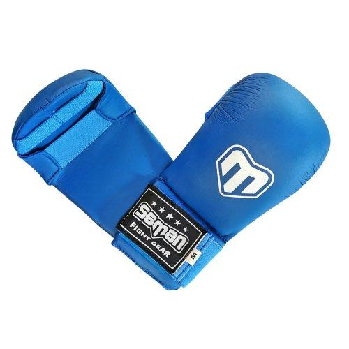 Seikenvédő, Saman, Competition, karate, műbőr, kék