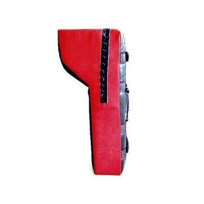Trapéz fejű pajzs, Phoenix, műbőr, 75x35x15/30 cm
