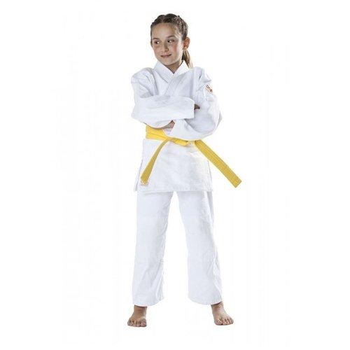 Judo ruha, DAX, Bambini, 390g, fehér, 160 cm méret