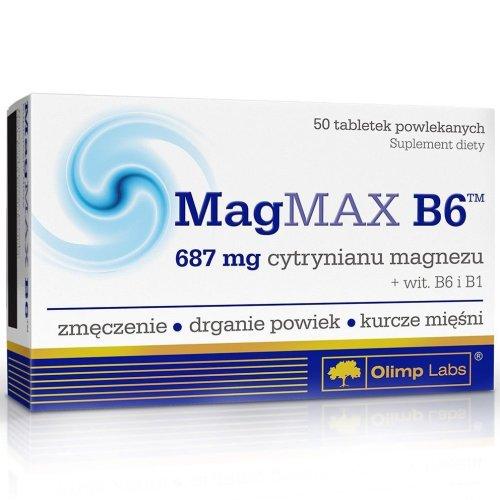 Olimp, MagMAX B6, Vitamin, 50 Capsules