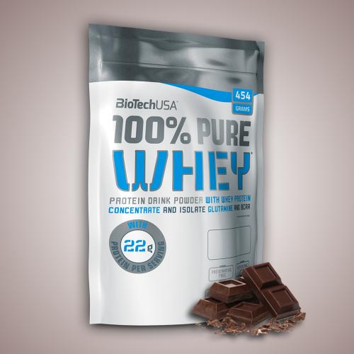 Biotech, 100% Pure Whey, 454 g, 16 ízben, Csokoládé ízek