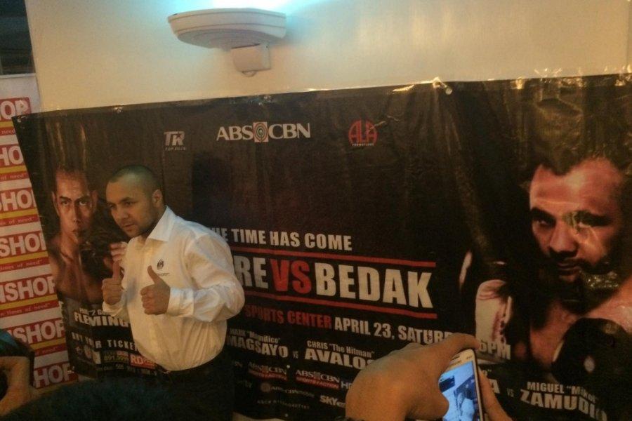 Bedák Zsolt megérkezett Cebu Citybe