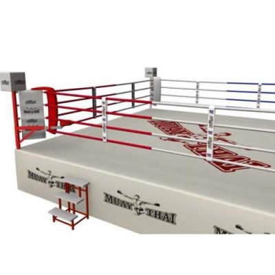 Competition Muay Thai Ring, Saman, 7x7m, 4 soros