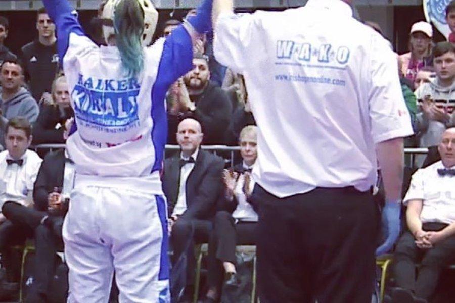 Veres Alex és Szabó Dorina diadala a kick-box világkupán