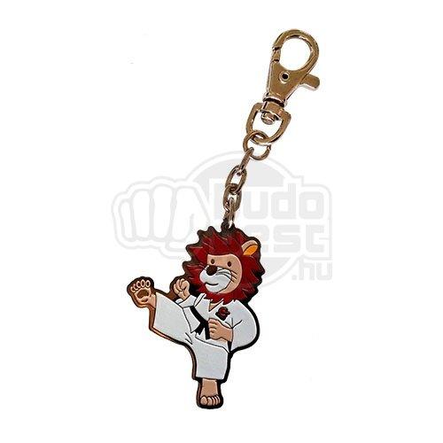 Key ring, Lion, metal