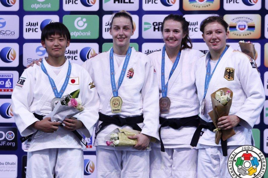 Junior világbajnok lett Gercsák Szabina