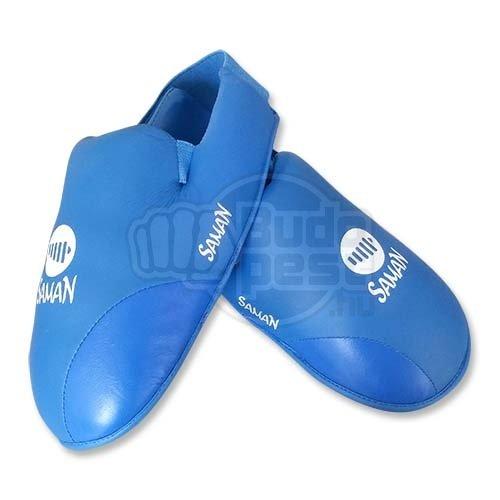 Instep Pad, Saman, karate, PU, blue