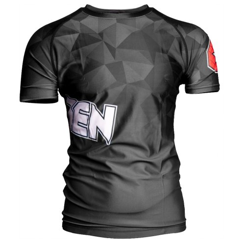 MMA Rashguard, Top Ten, Prism, Fekete szín, L méret