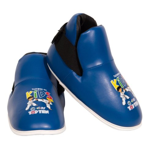 Lábfejvédő, Top Ten, Kids ITF, tépőzáras, Kék szín