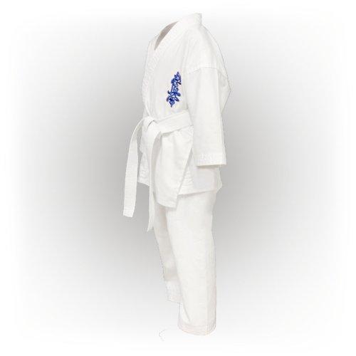 Kyokushin Karate Uniform, Saman, white, Light