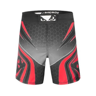 MMA short, Bad Boy, Legacy Evolve, black-red
