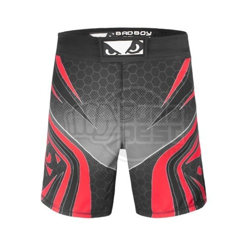 MMA short, Bad Boy, Legacy Evolve, black-red, M size