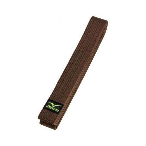 Belt, Mizuno, cotton, brown, 295 (5,0) méret