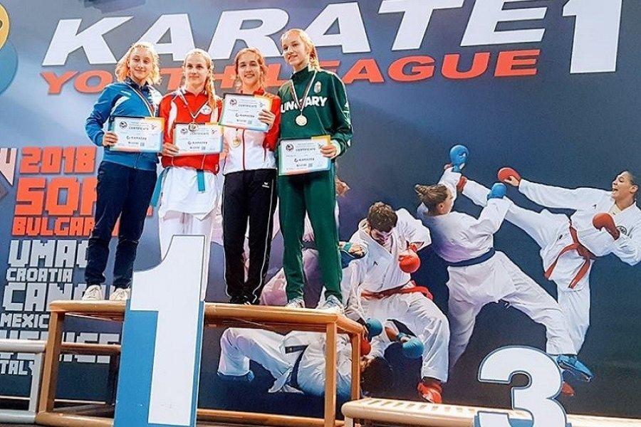 Magyar bronzérem az első karate Youth League-en