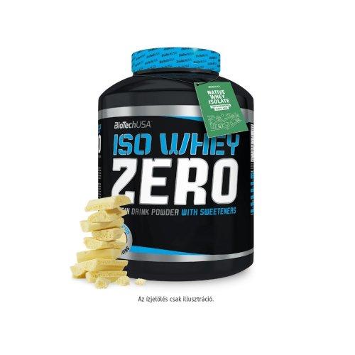 Biotech, Iso Whey Zero, Lactose Free, 2270 g, 18 ízben, Cookies&cream ízek