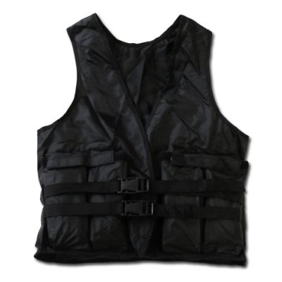 Weight vest, 10 kg with removable weights