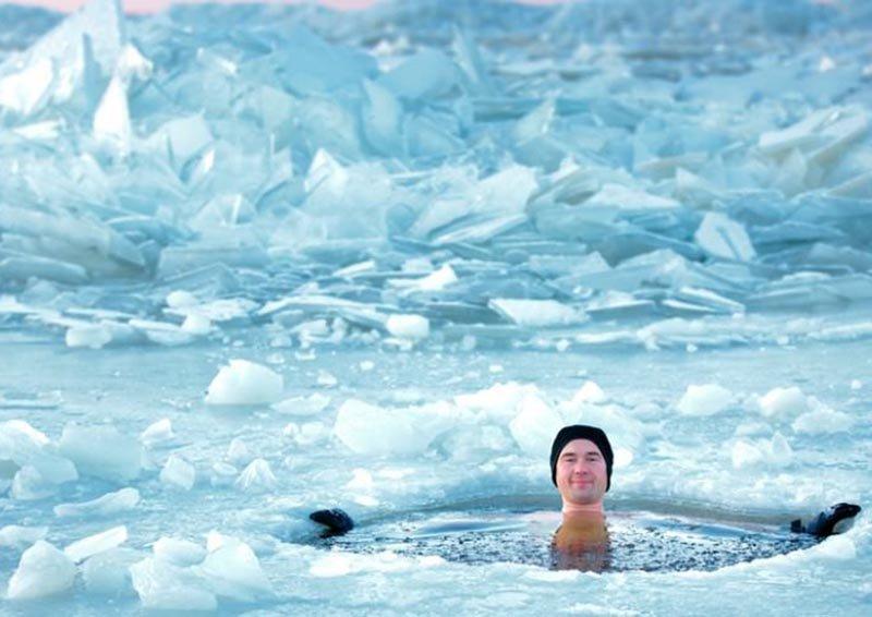 Jeges fürdő edzés után - Te próbáltad már?