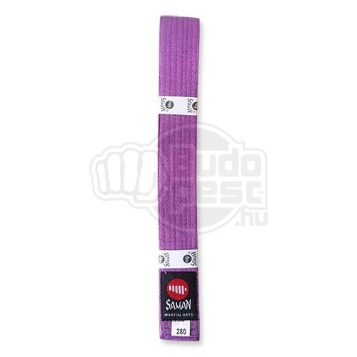 Belt, Saman, cotton, purple